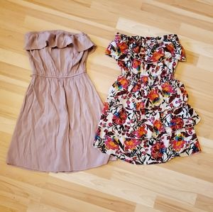 2 for 1 Strapless Dress Bundle